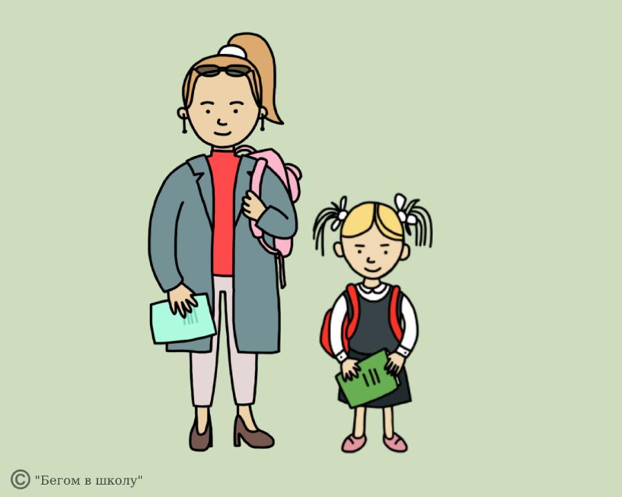 Во сколько дети идут в школу